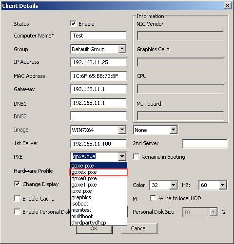 Edit Client Details