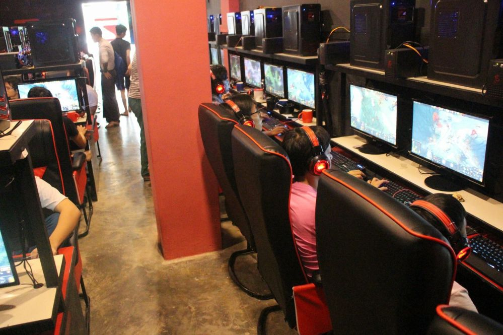 Successful Case of EZ E-Sports Gaming Cafe in Myanmar