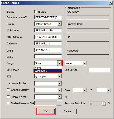 client detail
