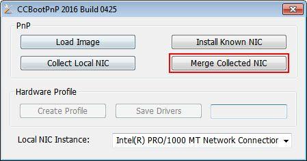 add new machine merge nic
