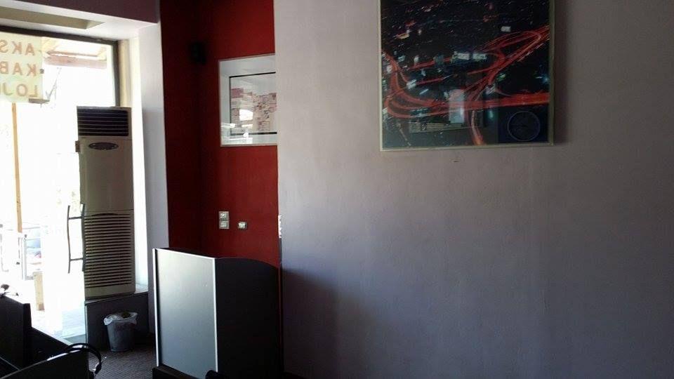 Albania Cafe Entrance