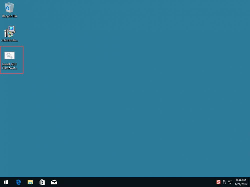 How to install Dot Net 3 5 on Windows 10 to get CPU GPU