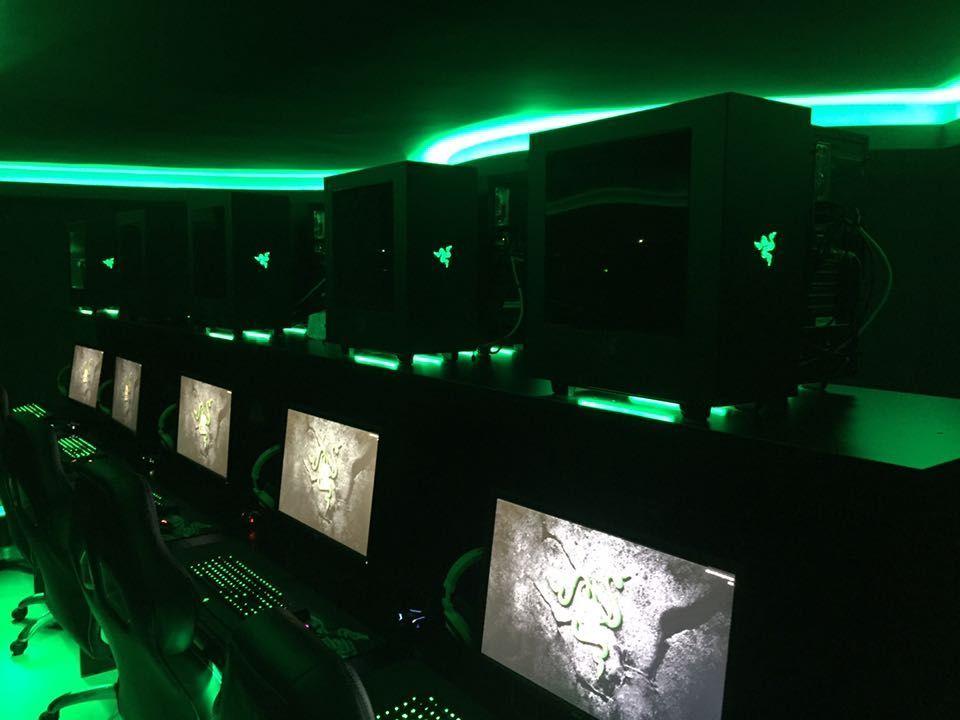 eSport Lounge Green 3