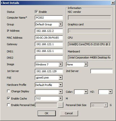 Edit Single Client