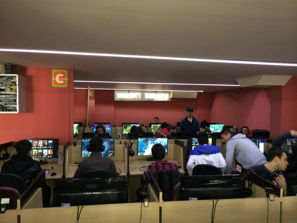 CCBoot in GamePark Internet Cafe