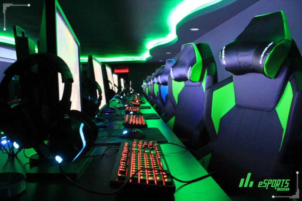 eSport Lounge Green 5