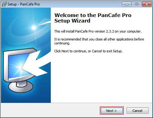 PanCafe pro step 1