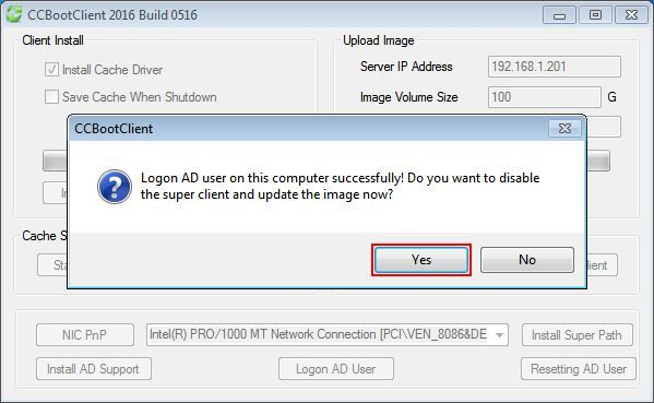 Steps for Installation Method of CCBoot Works With Windows