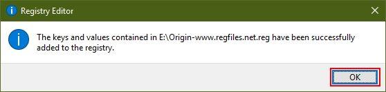 registry merged origin