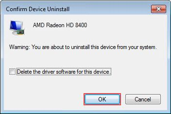 do not delete driver software