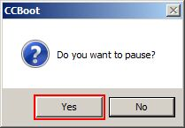 Confirm Pause Service