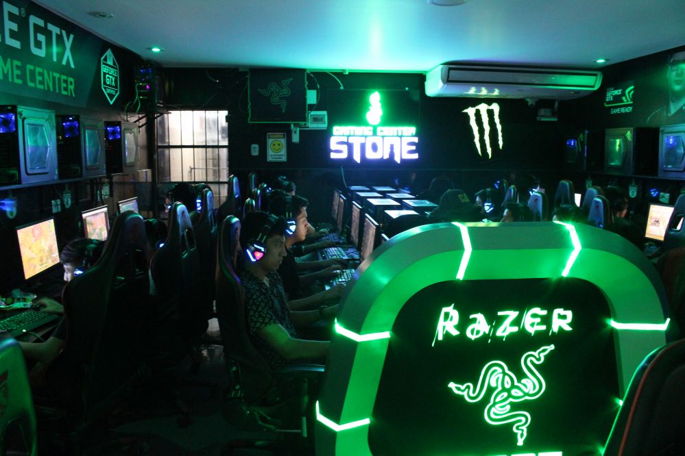 Gaming center stone