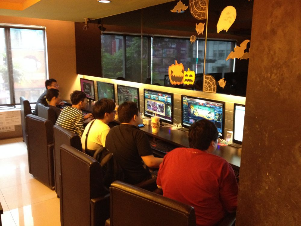 CCBoot in Taiwan Cyber Cafe