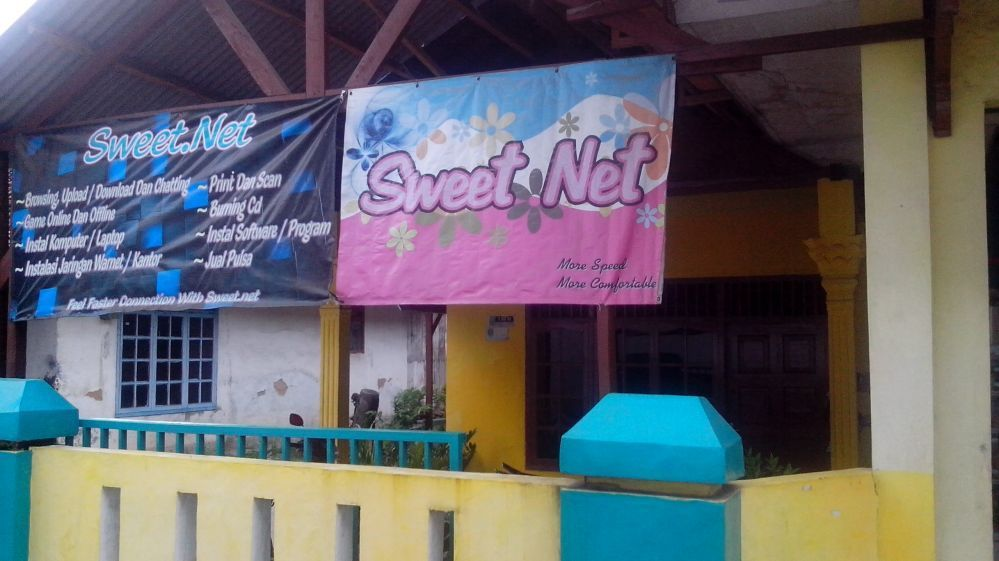 Sweetnet Entrance