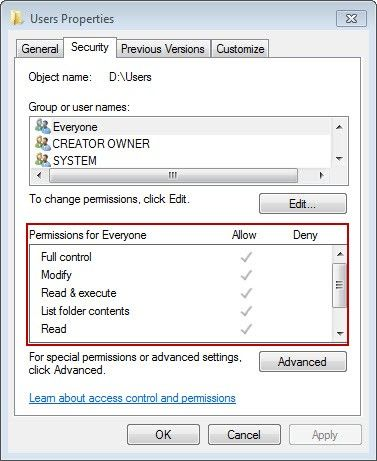 Preparations and Settings Method for Win7 Domain User